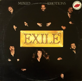 Exile ‎- Mixed Emotions (LP) (VG-EX/G)